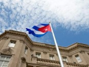 cuban emabssy flag