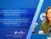 Josefina Vidal-visita-Obama
